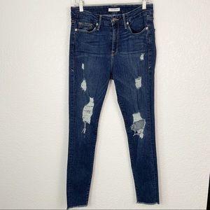 Good American Good Legs Blue 003 Jeans 8